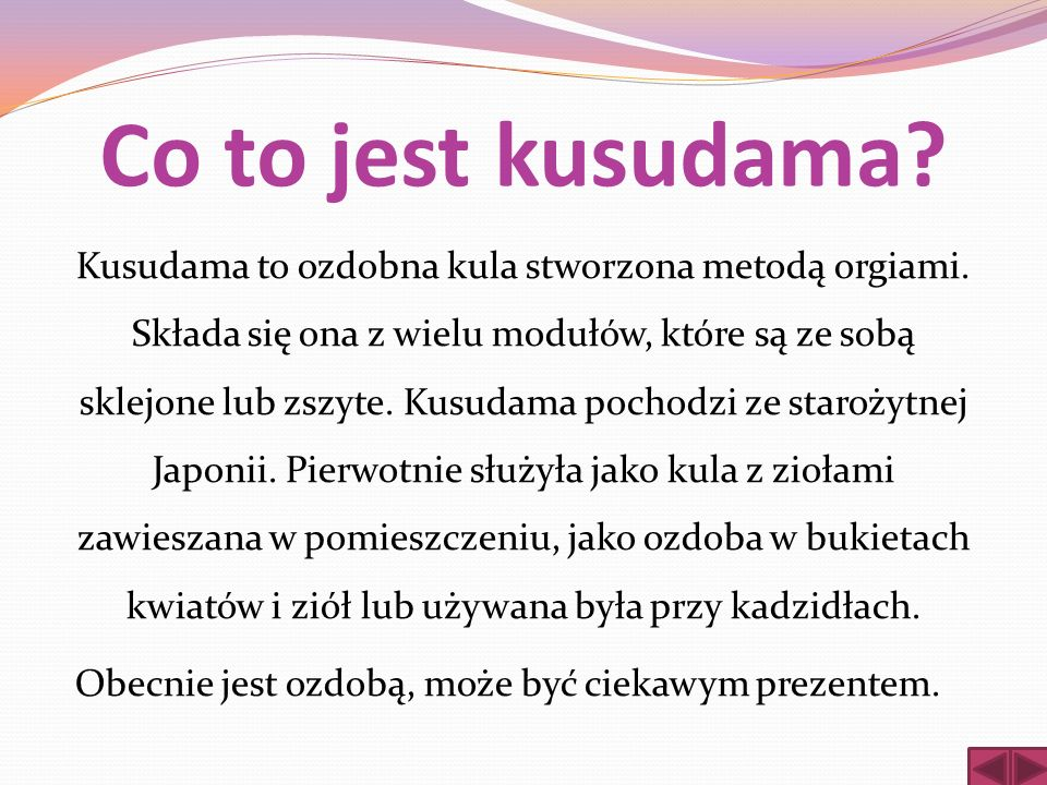 Co to jest kusudama
