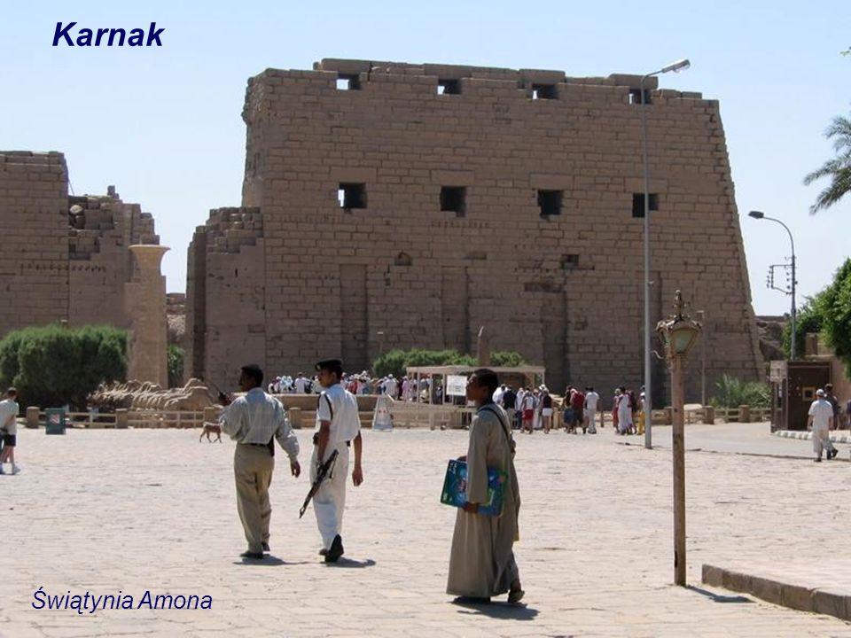 Karnak Świątynia Amona