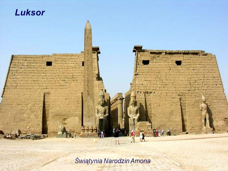 Luksor Świątynia Narodzin Amona