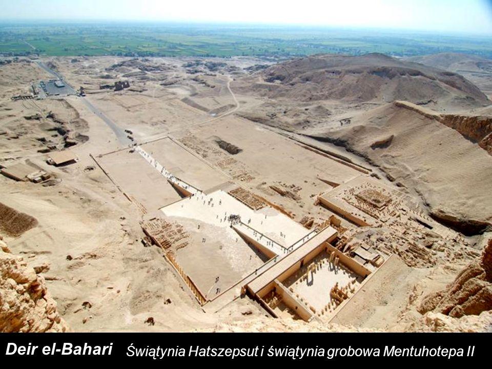 Świątynia Hatszepsut i świątynia grobowa Mentuhotepa II