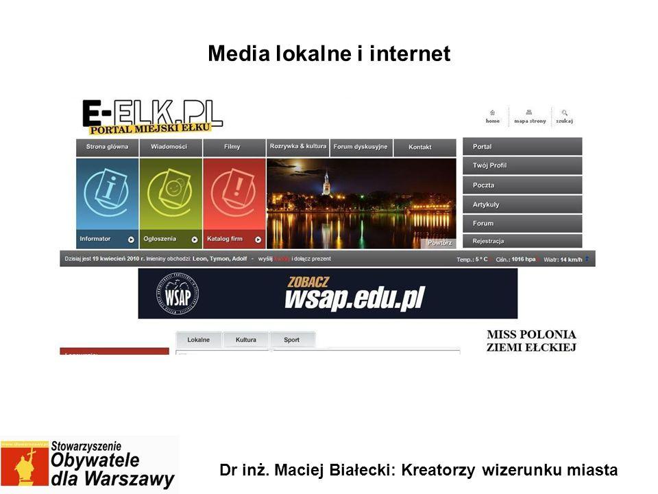 Media lokalne i internet