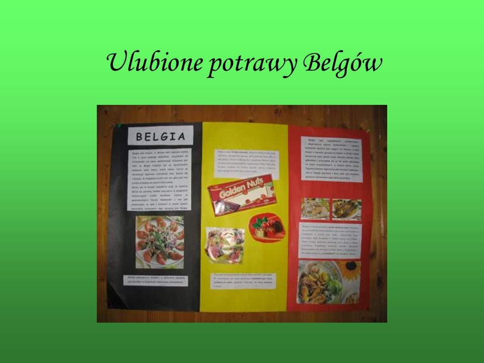 Ulubione potrawy Belgów