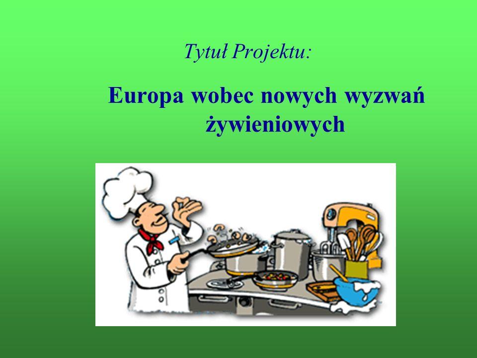 Europa wobec nowych wyzwań żywieniowych