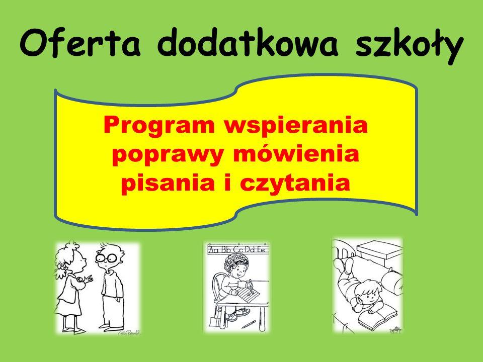 Oferta dodatkowa szkoły