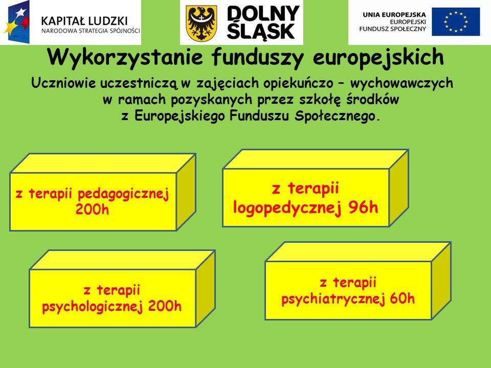 Wykorzystanie funduszy europejskich