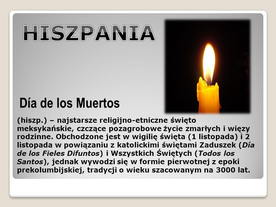 HISZPANIA Día de los Muertos