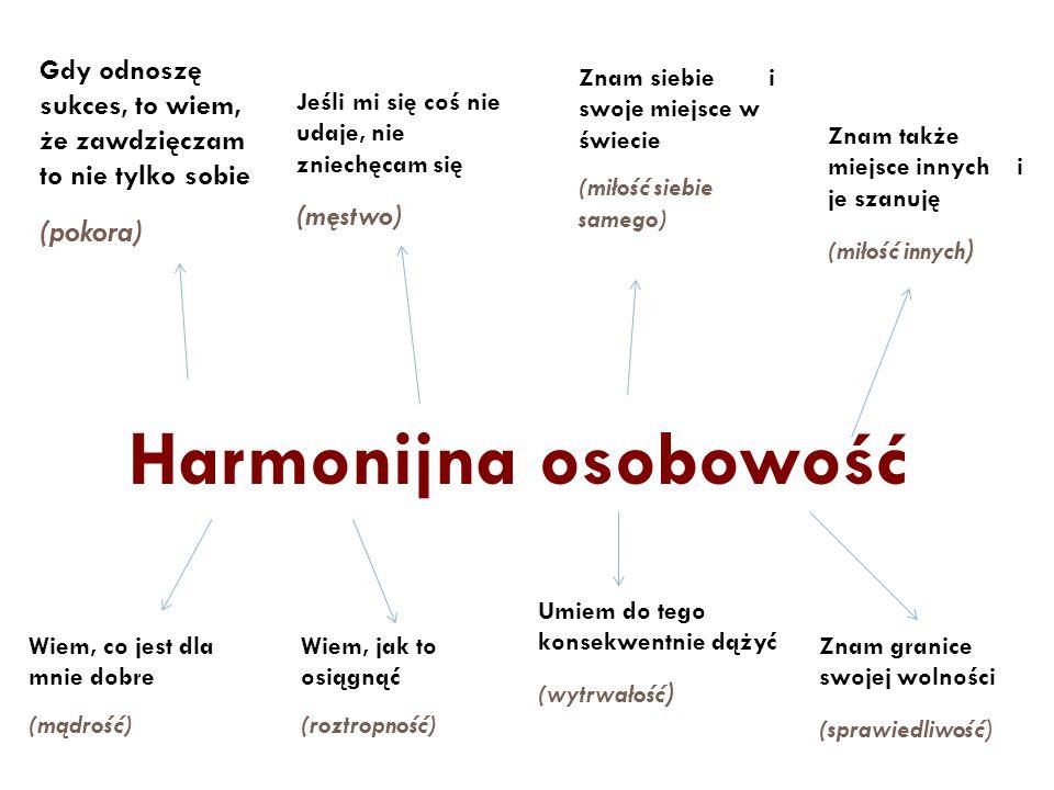 Harmonijna osobowość (pokora)