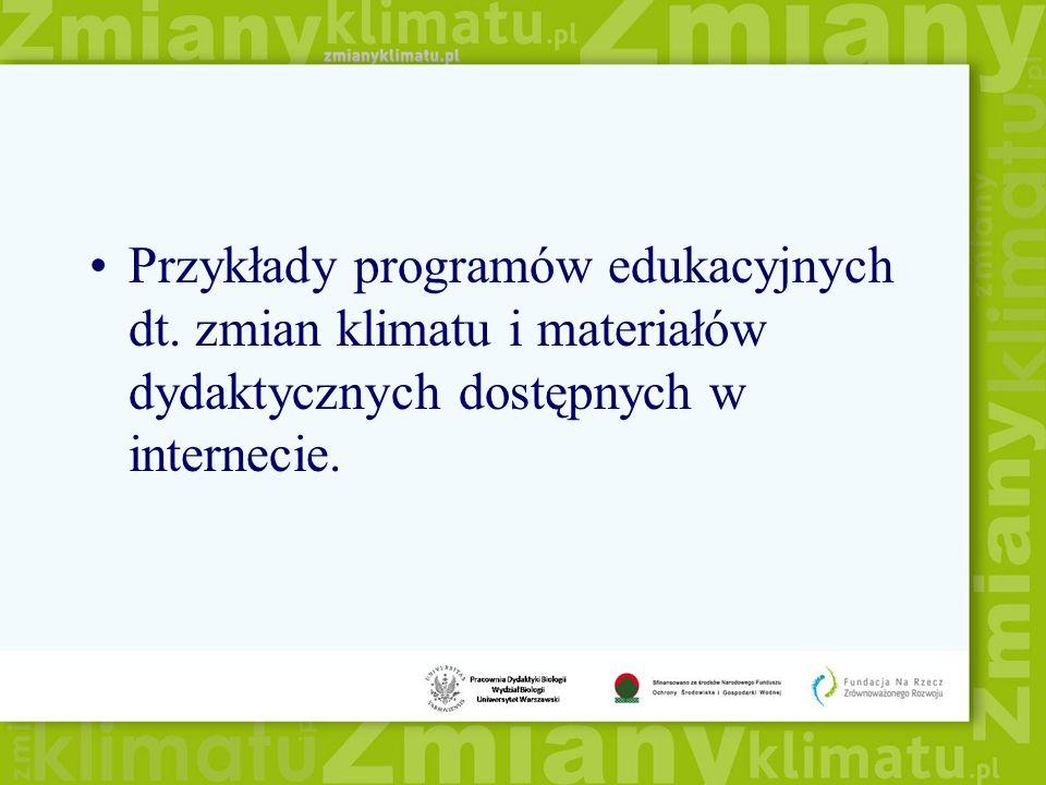 Przykłady programów edukacyjnych dt