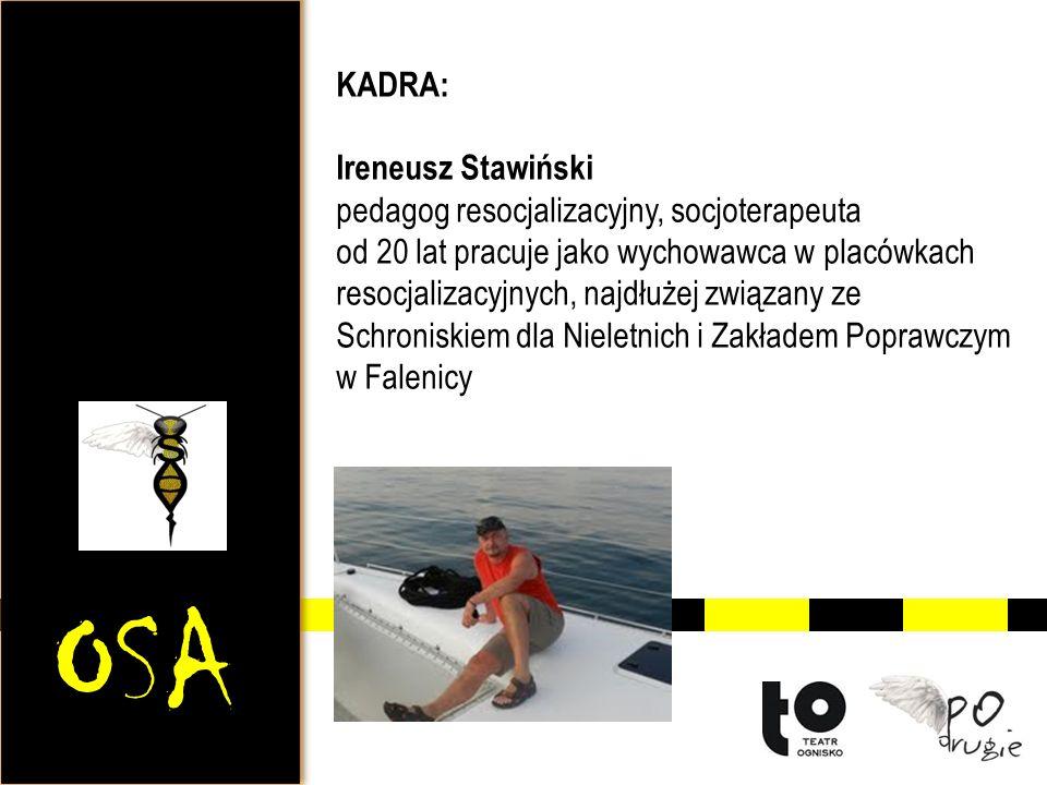 OSA KADRA: Ireneusz Stawiński