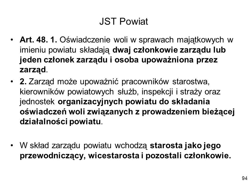 JST Powiat
