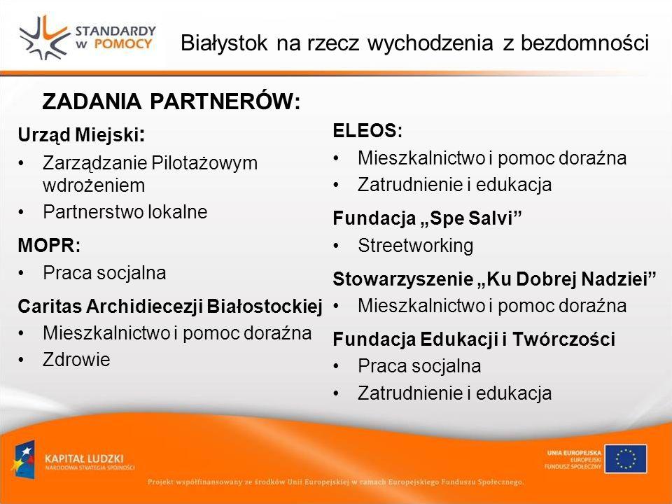 Białystok na rzecz wychodzenia z bezdomności