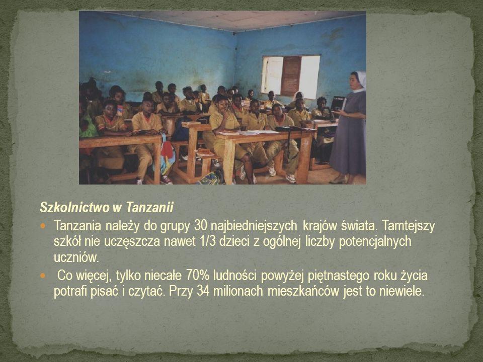 Szkolnictwo w Tanzanii