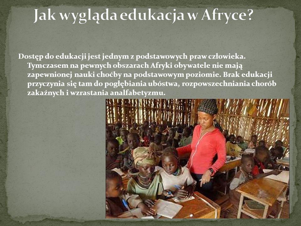 Jak wygląda edukacja w Afryce