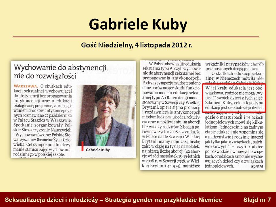 Gość Niedzielny, 4 listopada 2012 r.