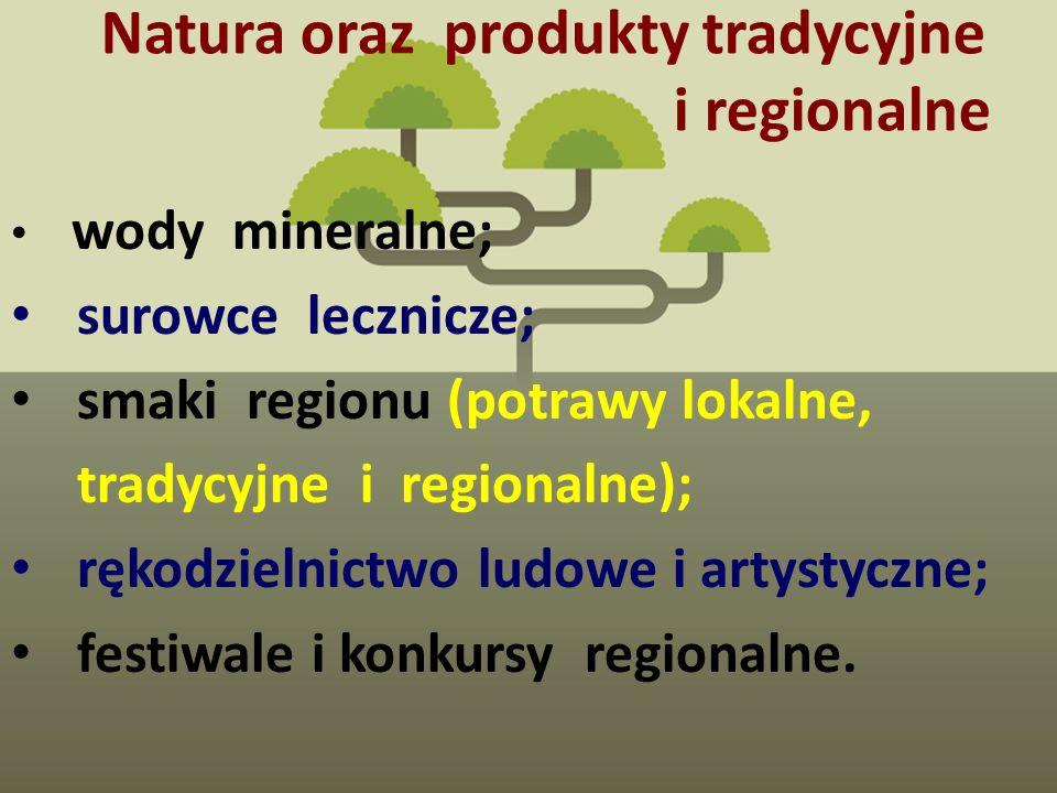 Natura oraz produkty tradycyjne i regionalne