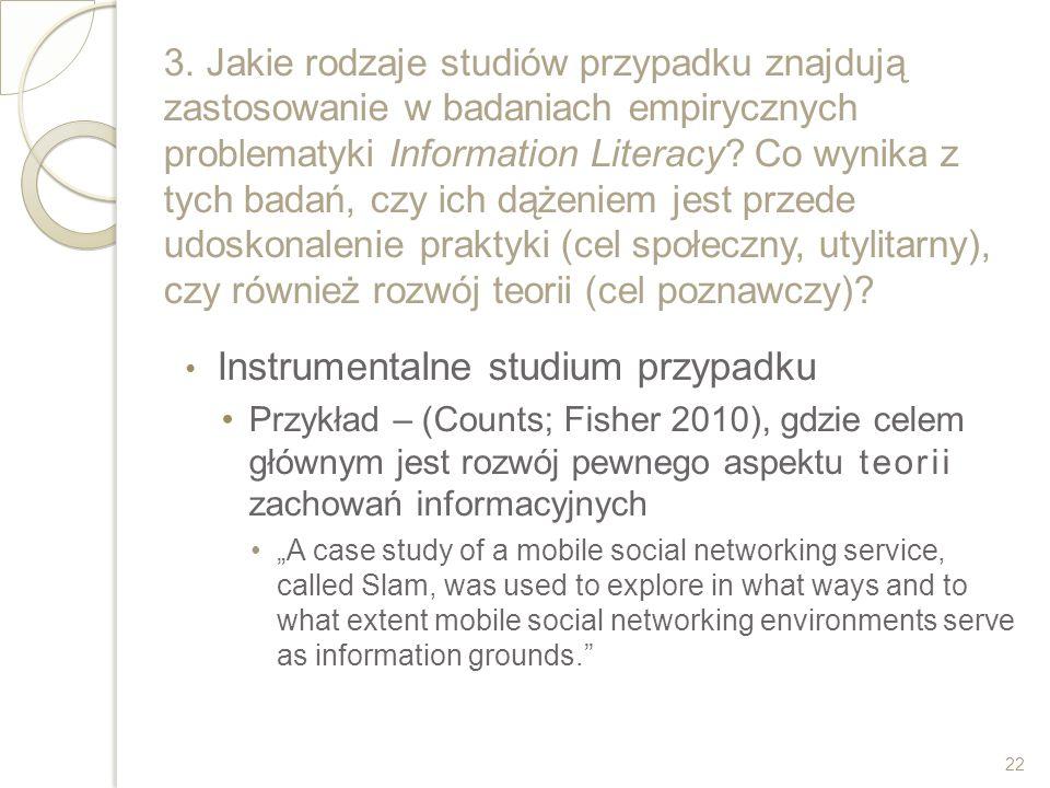 Instrumentalne studium przypadku