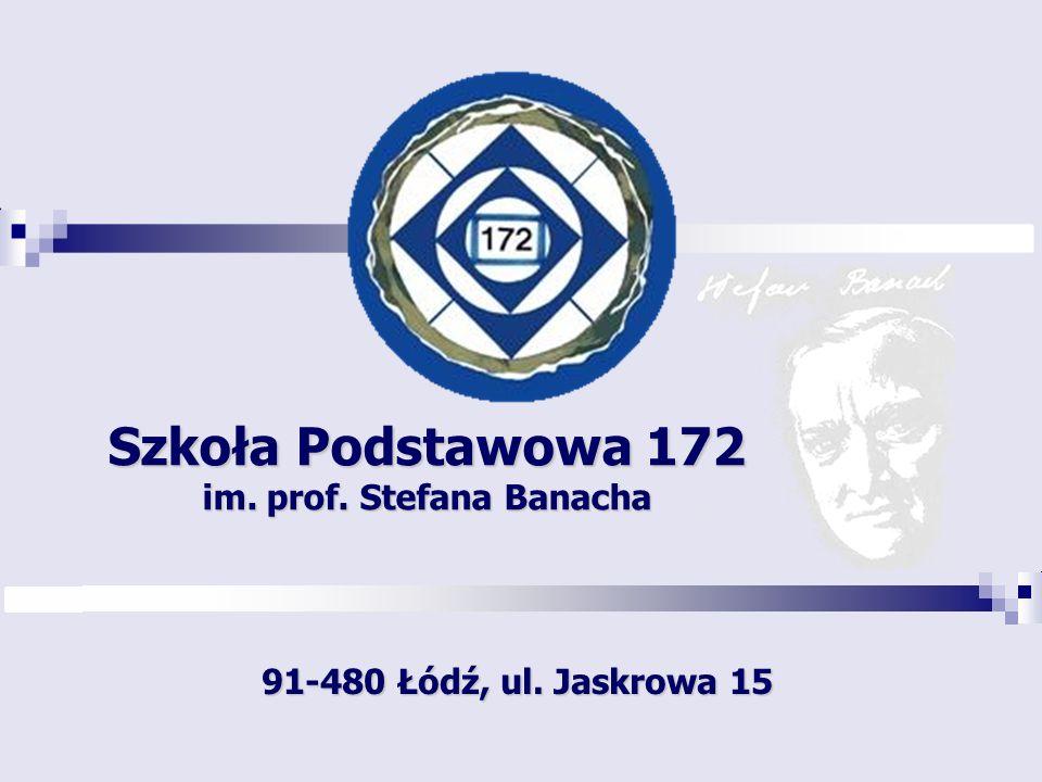 Szkoła Podstawowa 172 im. prof. Stefana Banacha