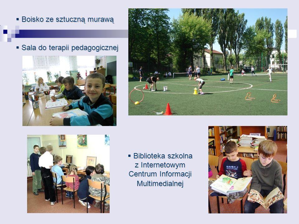 Biblioteka szkolna z Internetowym Centrum Informacji Multimedialnej