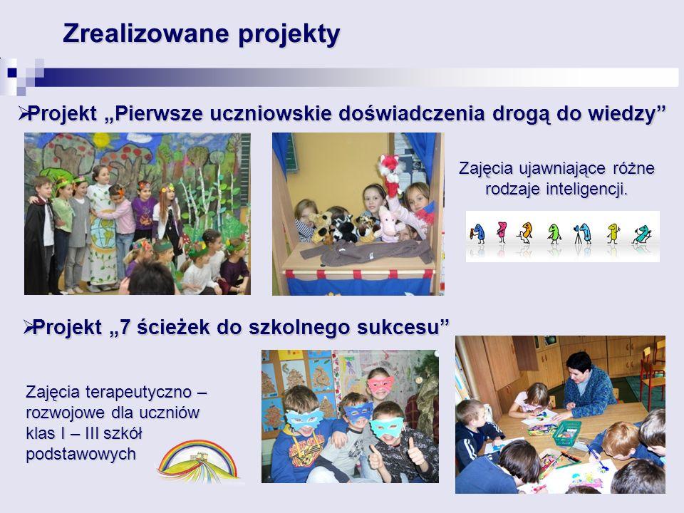 """Projekt """"7 ścieżek do szkolnego sukcesu"""
