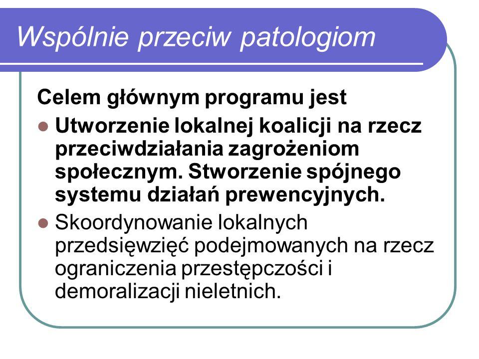 Wspólnie przeciw patologiom