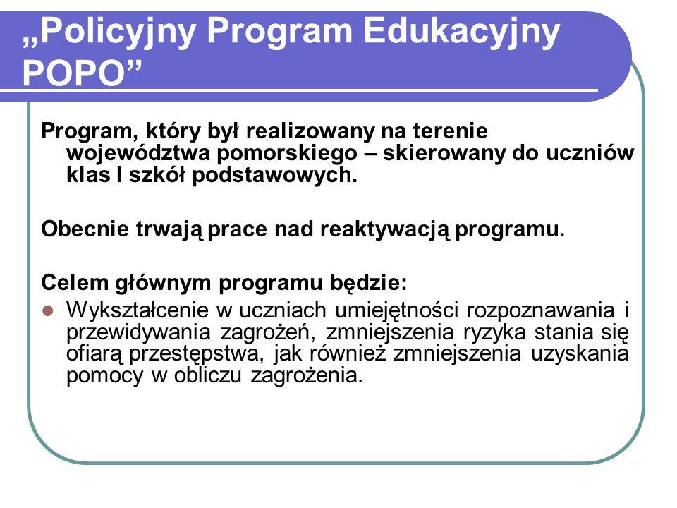 """""""Policyjny Program Edukacyjny POPO"""