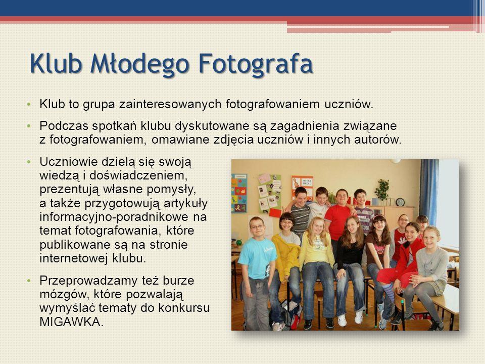 Klub Młodego Fotografa
