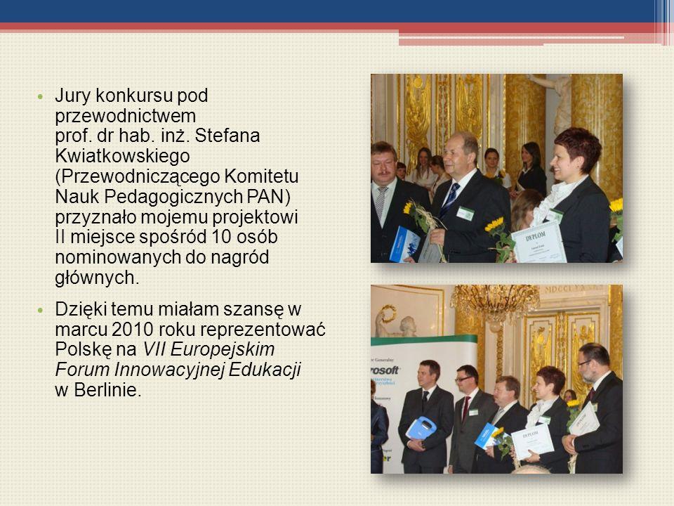 Jury konkursu pod przewodnictwem prof. dr hab. inż