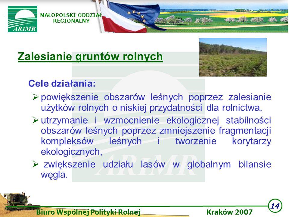 Zalesianie gruntów rolnych