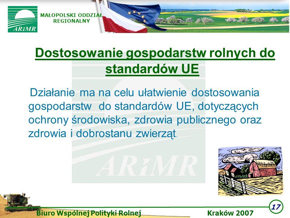Dostosowanie gospodarstw rolnych do standardów UE