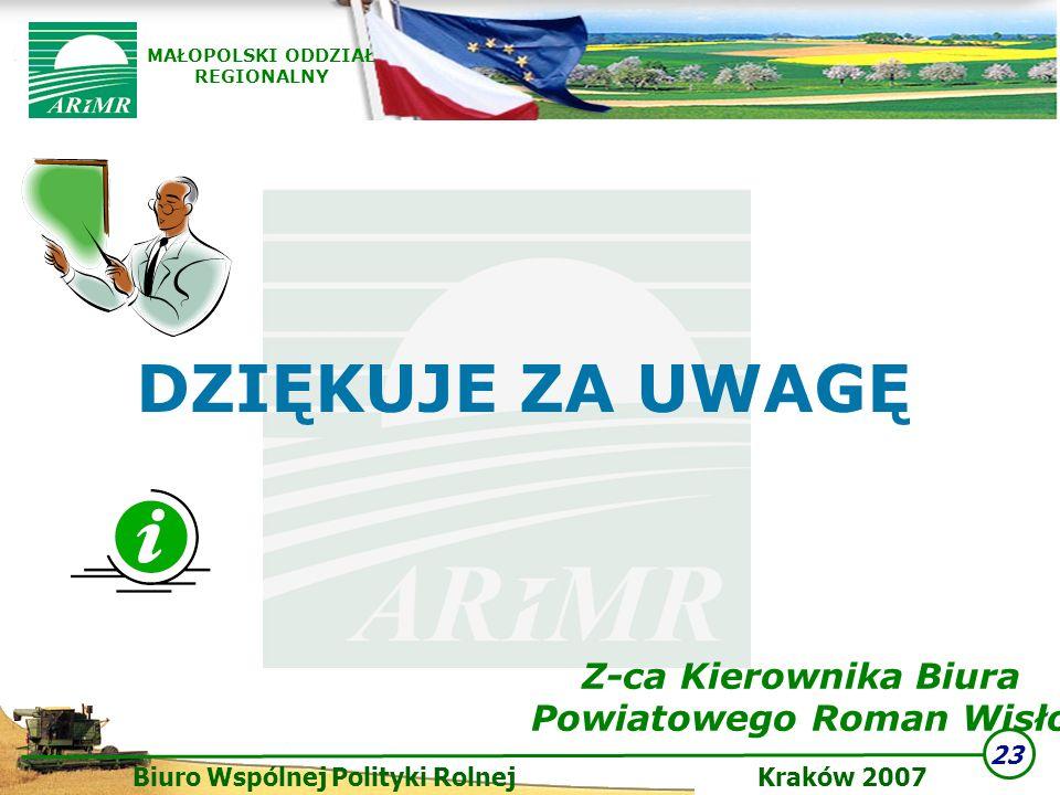 Z-ca Kierownika Biura Powiatowego Roman Wisło