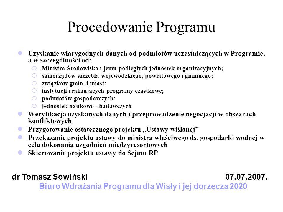 Procedowanie Programu