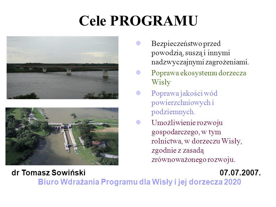 Biuro Wdrażania Programu dla Wisły i jej dorzecza 2020
