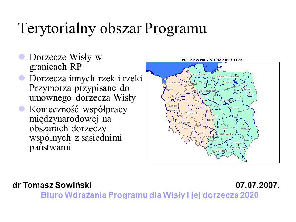 Terytorialny obszar Programu