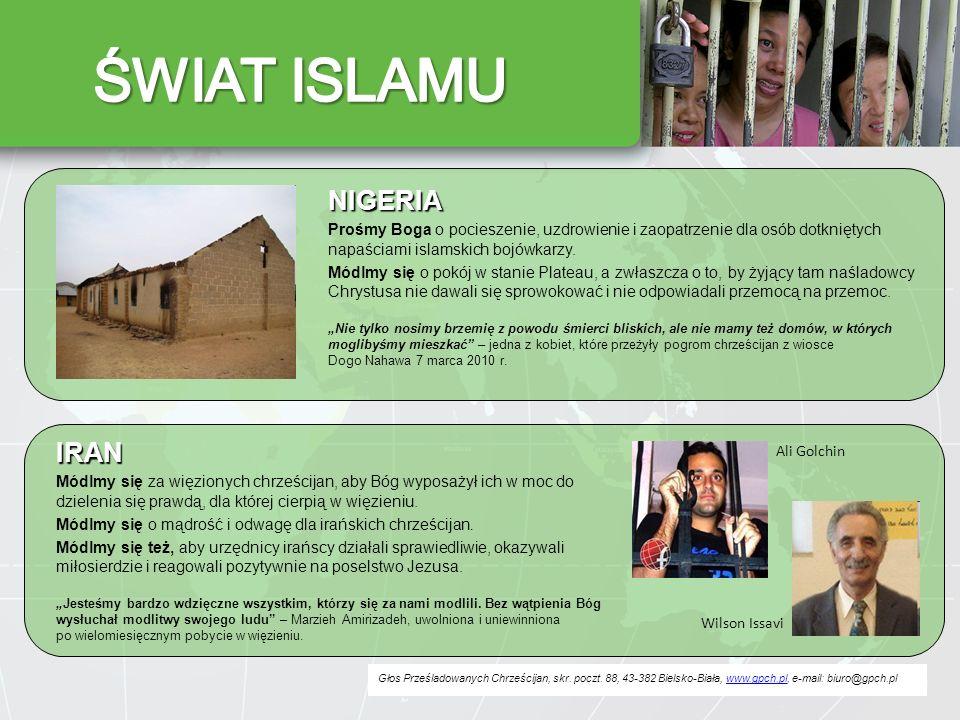 ŚWIAT ISLAMU NIGERIA IRAN