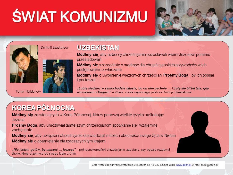 ŚWIAT KOMUNIZMU UZBEKISTAN KOREA PÓŁNOCNA Dmitrij Szestakow