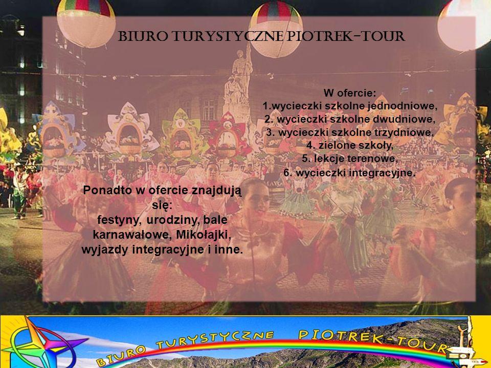BIURO TURYSTYCZNE PIOTREK-TOUR