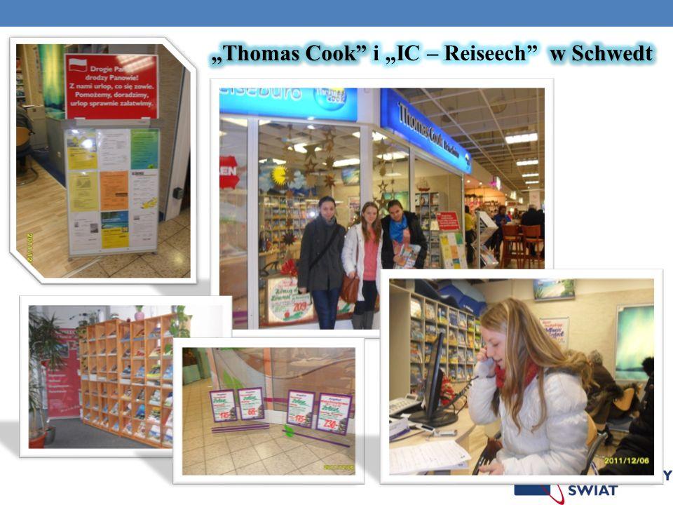 """Thomas Cook i ""IC – Reiseech w Schwedt"