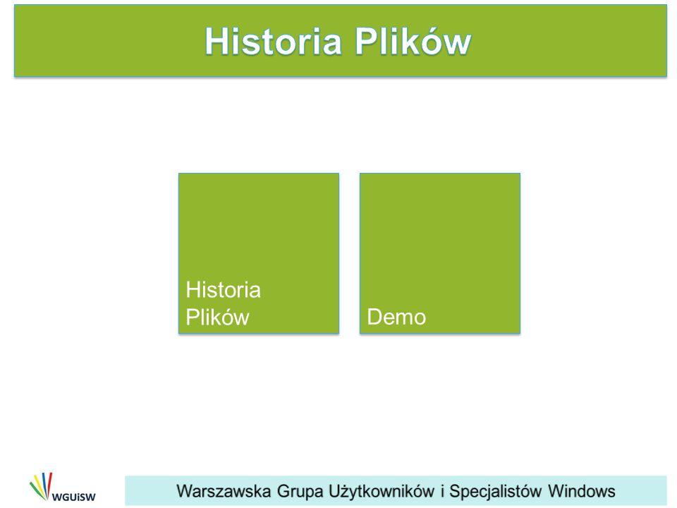 Historia Plików Historia Plików Demo