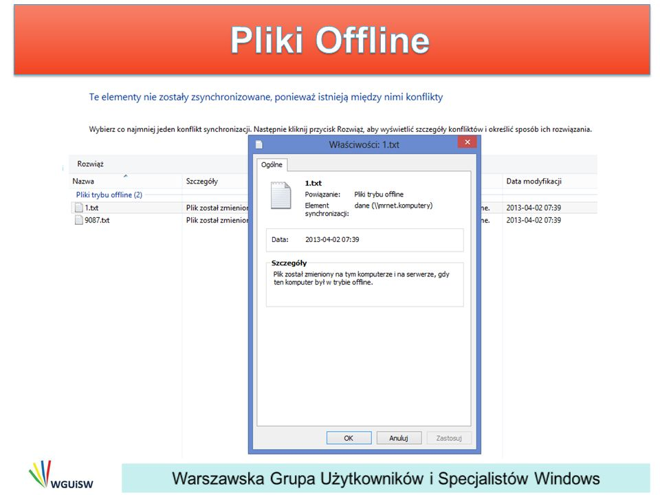 Pliki Offline