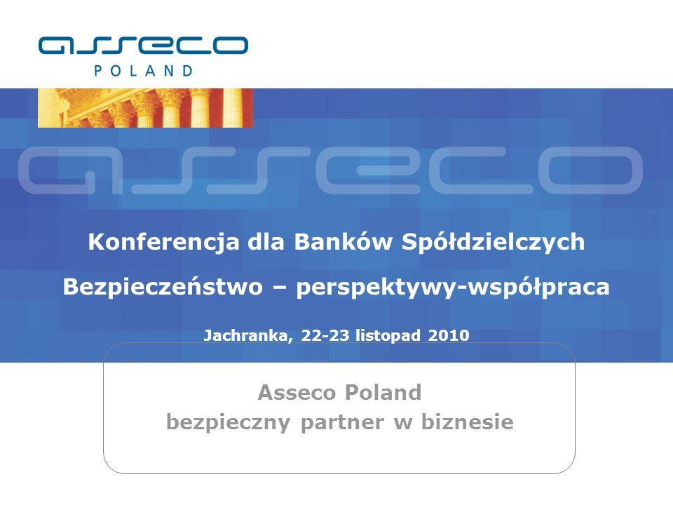 Asseco Poland bezpieczny partner w biznesie