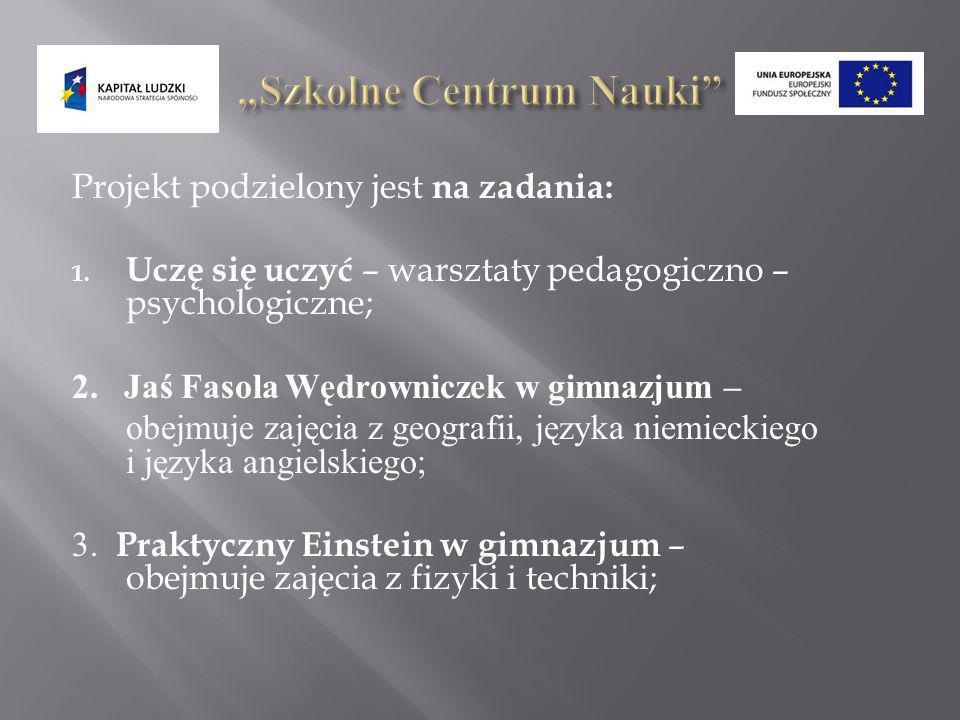 """Szkolne Centrum Nauki"