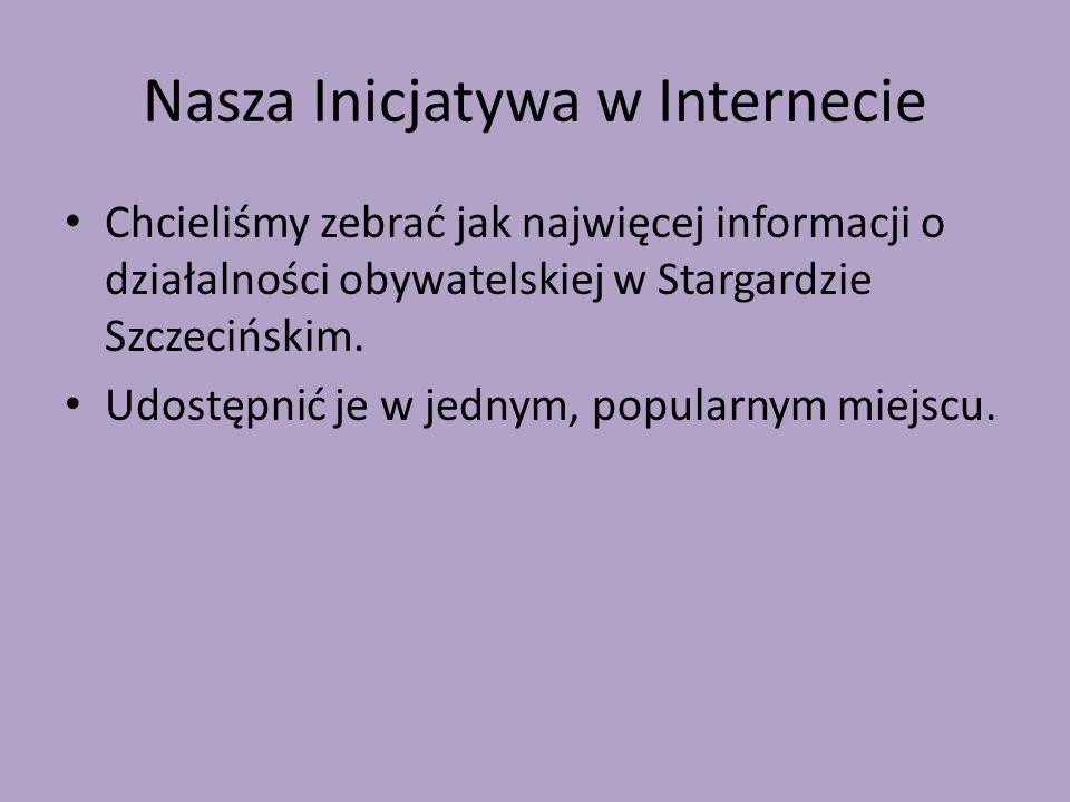Nasza Inicjatywa w Internecie