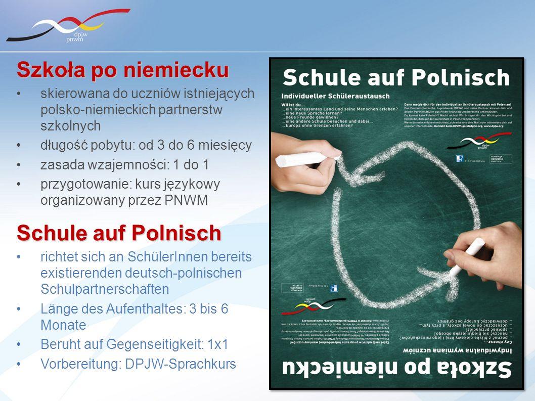 Szkoła po niemiecku Schule auf Polnisch