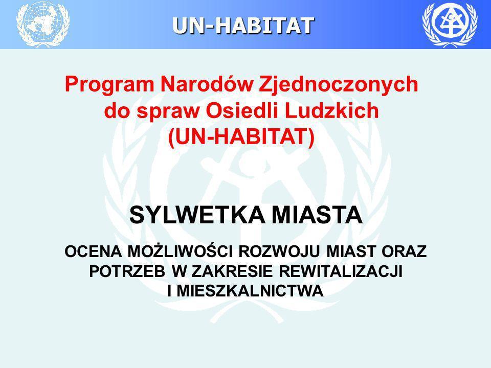 SYLWETKA MIASTA Program Narodów Zjednoczonych