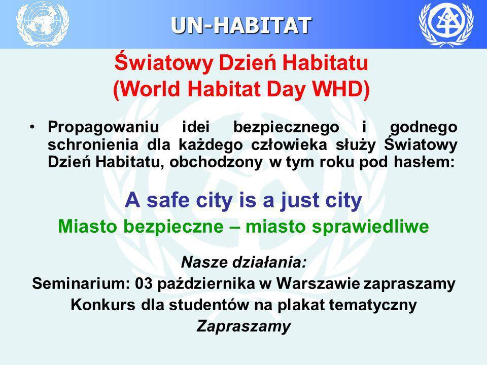 Światowy Dzień Habitatu (World Habitat Day WHD)