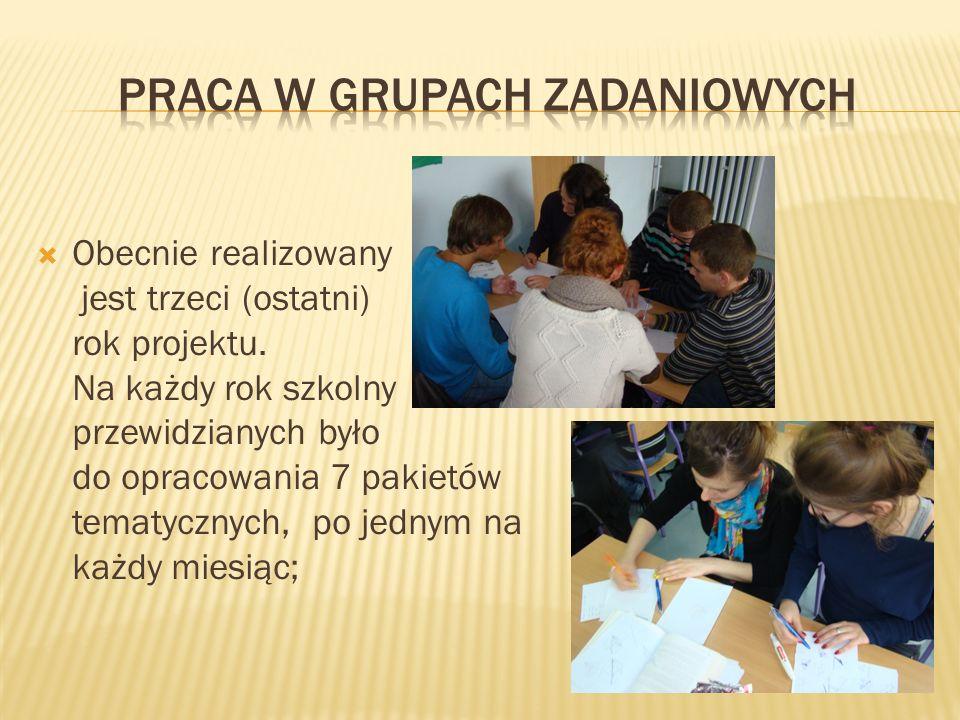 Praca w grupach zadaniowych