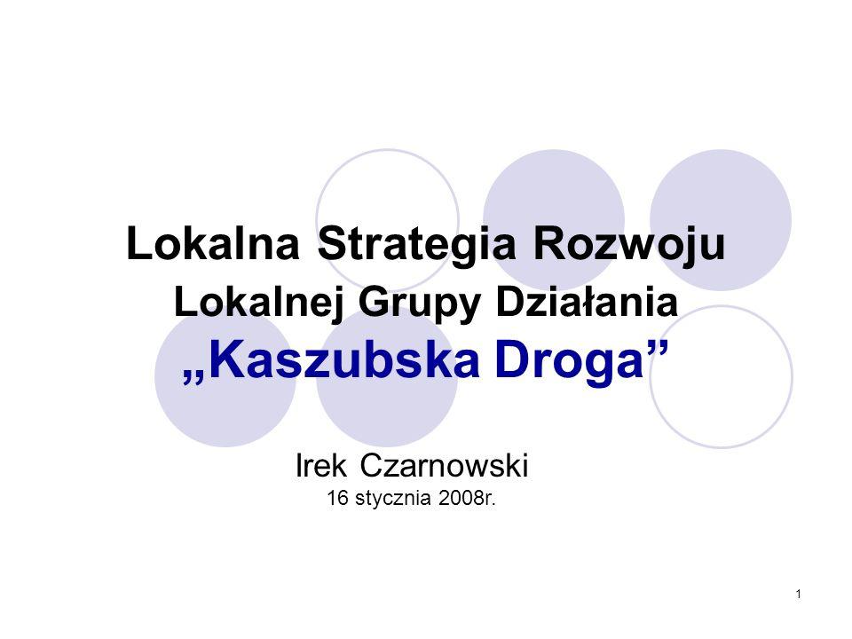 """Lokalna Strategia Rozwoju Lokalnej Grupy Działania """"Kaszubska Droga"""