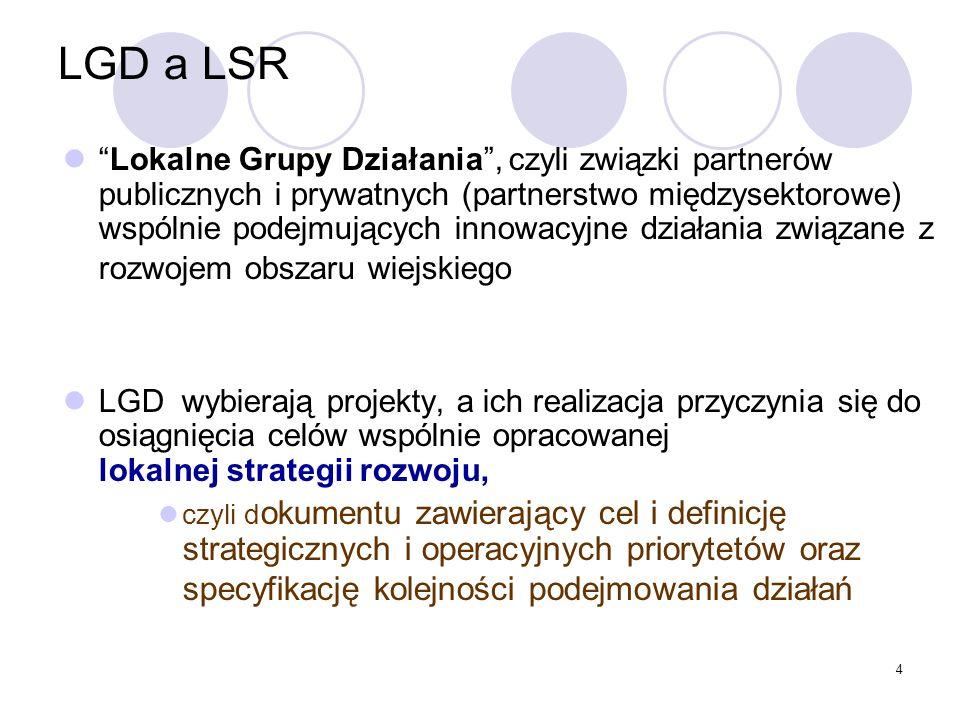 LGD a LSR