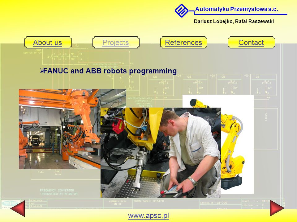 FANUC and ABB robots programming