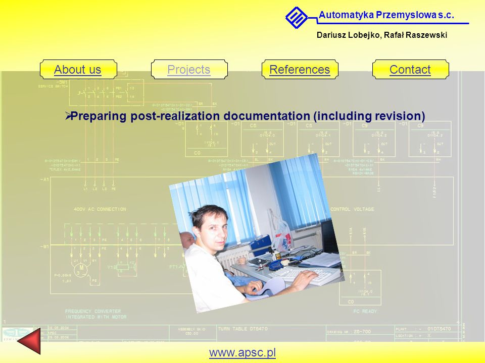 Preparing post-realization documentation (including revision)